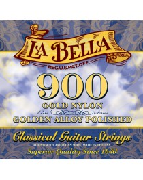 LA BELLA - 900 - Set de Cuerdas GOLD NYLON