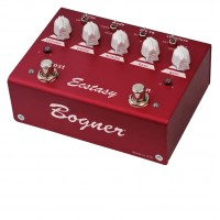 BOGNER - ECSTASYRED - Distorsion con Booster Red