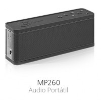 EDIFIER -  MP260BLACK - Mini Parlante Bluetooth Negro